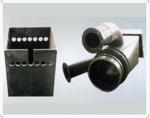 喷口、煤粉分配器